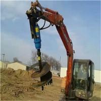 挖机改装螺旋钻机30公分到80公分支持定制