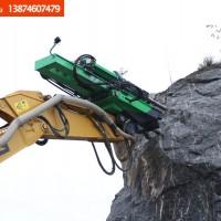 烈岩岩石钻裂一体机