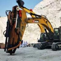 岩石钻裂一体机全液压挖改钻机凿岩矿山开采静态爆破工程机械