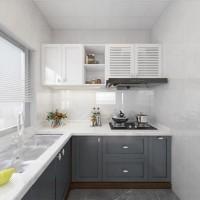 凯米特全屋全铝定制现代简约橱柜整体厨房组装经济型橱柜