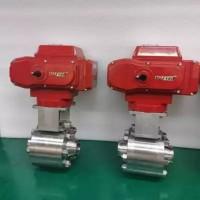 焊接高压球阀咨询 双相钢材质电动球阀 德国VATTEN
