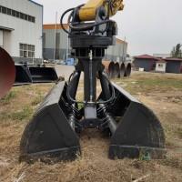 定制生产挖掘机贝型斗 挖掘机贝壳斗
