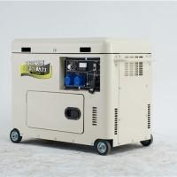 四冲程6kw静音柴油发电机低油耗