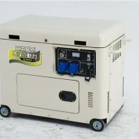 救援车载7kw静音柴油发电机应急电源